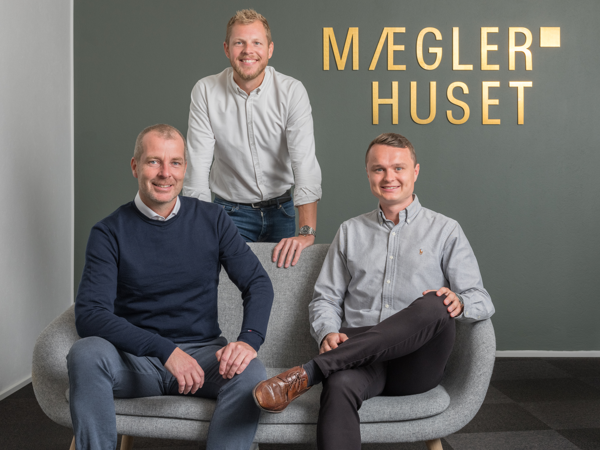 Fra venstre: Mads Sørensen, Thomas Skifter Andersen og Simon Rye